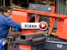The Trajan 20 in use at Steel Fab shops all over the United States to cut all types of steel
