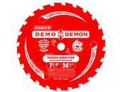 "Product Image for 7-1/4"" X 5/8"" X 24T Diablo Wood Cutting Demo Demon Ultimate Framing/Demolition"